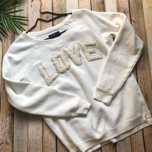 American Eagle Women's LOVE sweatshirt size small